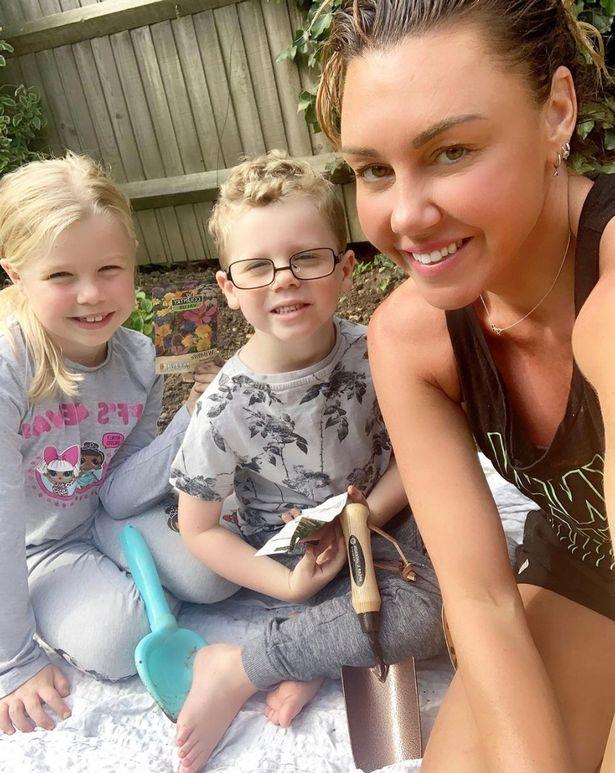 Michelle Heaton kids