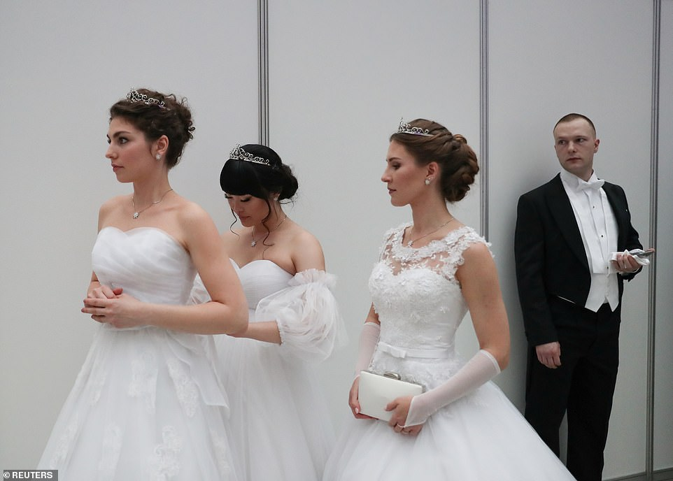 Saturday's charity event, which sees young women don white dresses and tiaras, was due to take place last year but was postponed due to the Covid-19 pandemic