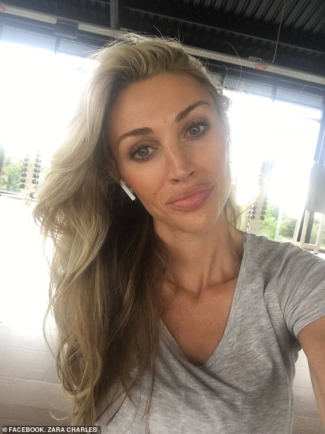 New flame: Last week it was revealed Ryan had found love with lingerie model Zara who has 'supported' him through the legal case