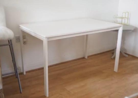 Deborah's table before