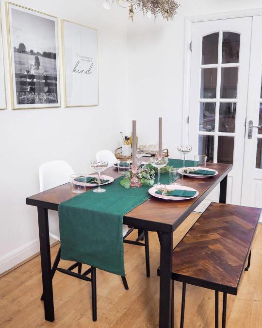 Deborah's table after