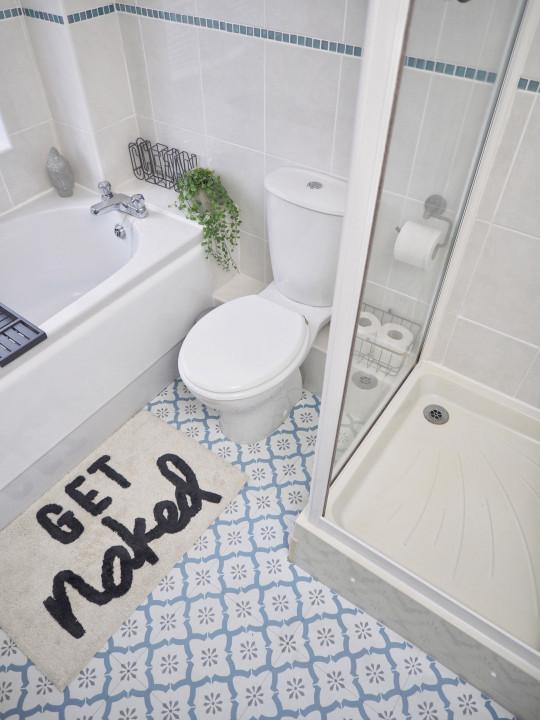 Deborah's bathroom after