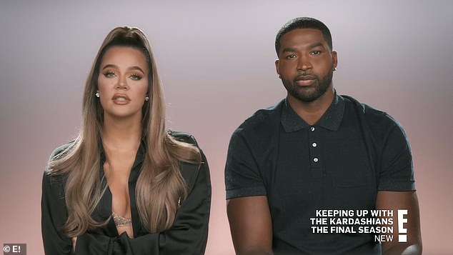 Ongoing: Thompson has launched a $100,000 libel suit against Alexander after she continued to claim he was her son's father and said the paternity test had been tampered with; still from KUWTK