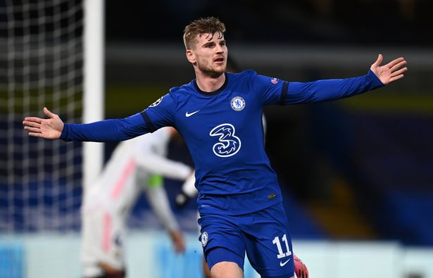 Werner endured a difficult first year in England but still managed to score 13 goals and provide 11 assists