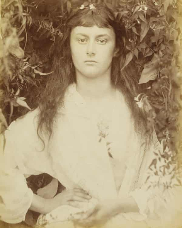 Alice Liddell, photographed by Julia Margaret Cameron.