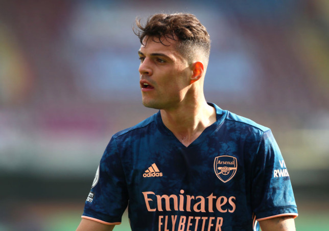 Roma are in talks to sign Granit Xhaka from Arsenal