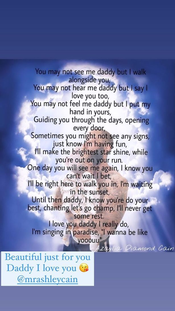 The heartfelt poem Safiyya shared for Ashley Cain