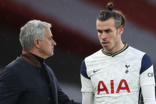 Jose Mourinho used Gareth Bale very sporadically before his dismissal