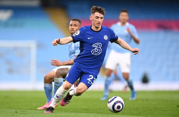Billy Gilmour impressed during the win over Man City
