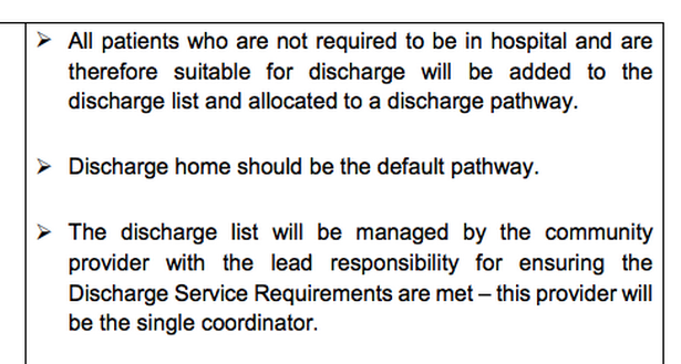 This document from March 19 aimed to free up 15,000 beds in a week