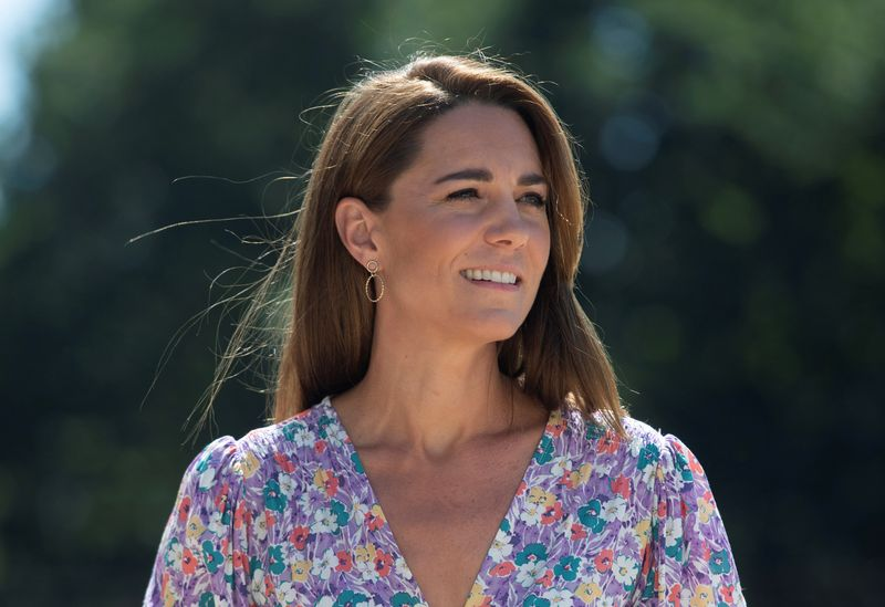 British royal Kate gets first dose of COVID-19 vaccine