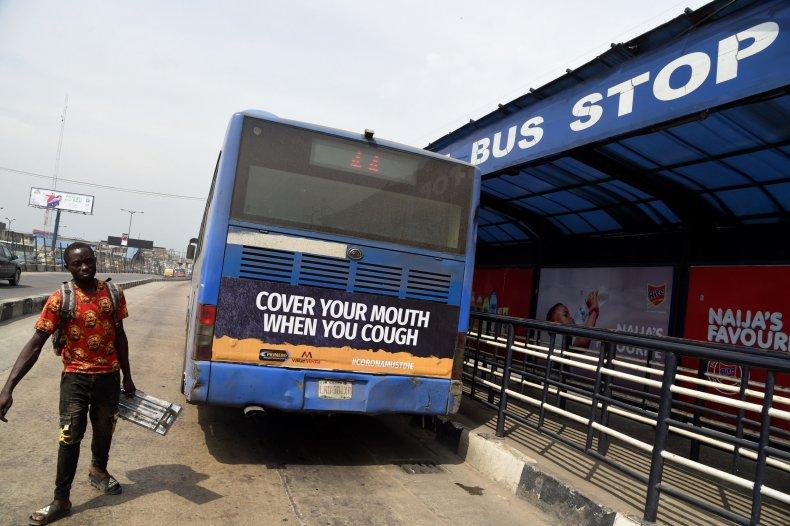 Bus in Nigeria