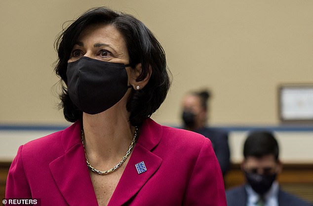The CDC is expected to say on Thursday that people can stop wearing masks indoors
