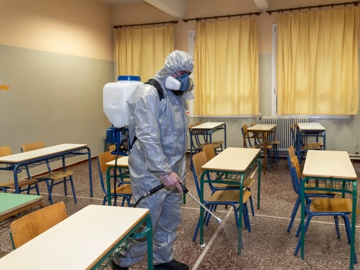 Can Clean, Sanitised School Premises Help Prevent the Pandemic from Spreading Among Students?