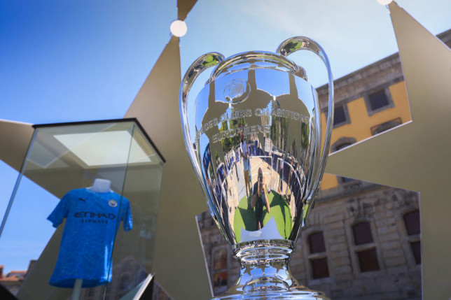 Manchester City and Chelsea will contend the Champions League final in Lisbon
