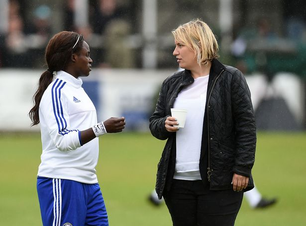 Eni Aluko was signed by Emma Hayes just a few months after her arrival at Chelsea