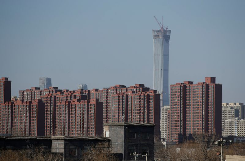 China April home prices quicken to 8-month high