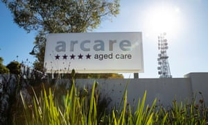 The Arcare aged care facility in Maidstone, where a worker has tested positive to Covid.
