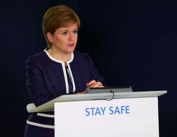 First Minister Nicola Sturgeon said restrictions in Glasgow cannot be lifted just yet