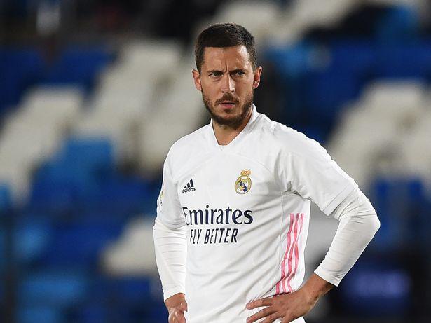 Eden Hazard endured a miserable season for Real Madrid