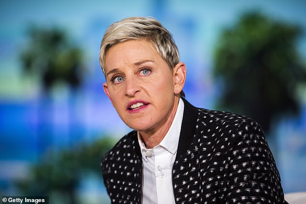 'The viewers have spoken':A producer who worked on The Ellen DeGeneres Show has come out swinging against her former employer - after the talk show host (pictured) announced on Wednesday she was ending her program after 19 seasons