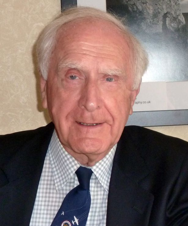 Michael GIbson, 88, died from Covid-19 in a care home on April 3, 2020