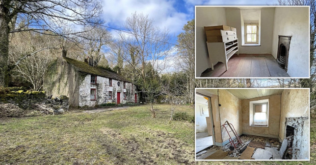 run-down fixer upper in wales up for sale