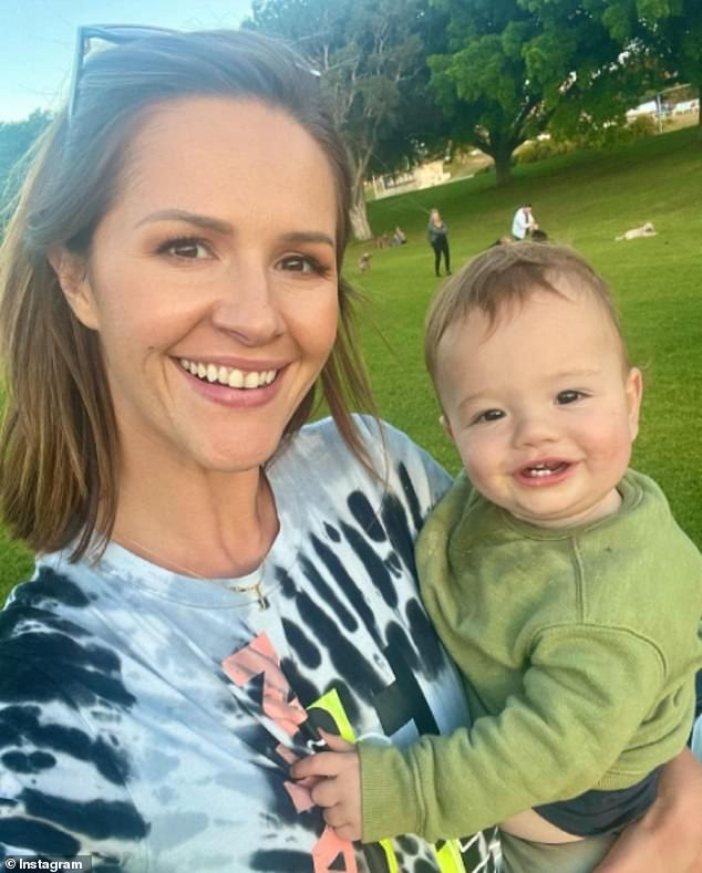 'It's just not practical': Former Channel Sunrise reporter Jessica Ridley discussed her decision to choose motherhood and family over her career. Shebecame a freelance journalist after welcoming her first son, Frank, last year