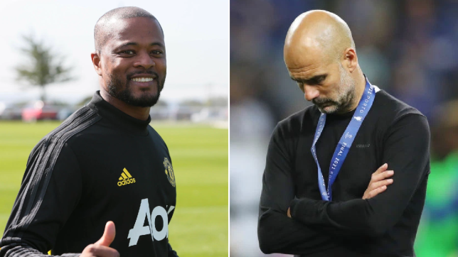 Former Manchester United star Patrice Evra savagely mocks Man City after Champions League loss