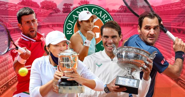 Novak Djokovic, Rafael Nadal, Iga Swiatek