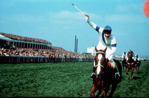Bob Champion wins the 1981 Grand National on Aldaniti
