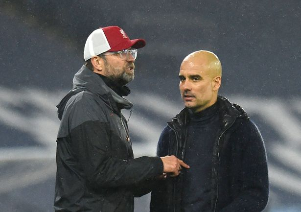 Klopp and Guardiola have a strong mutual respect for each other despite their title battle