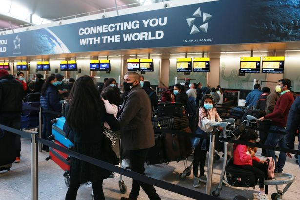 Travellers could face big queues at airports as foreign travel resumes