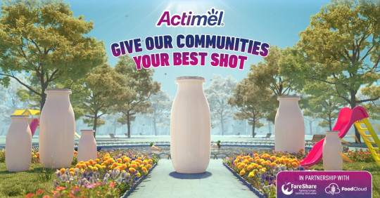 Help support our communities: Actimel is giving shoppers the chance to give back to the charities that are helping their local communities stay resilient. T&Cs apply, see below.