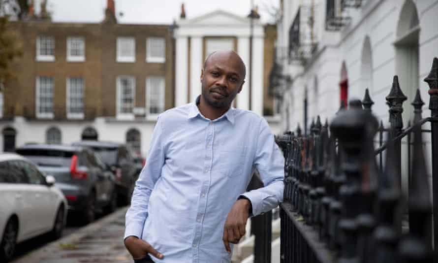 Peter Murimi, the director of I Am Samuel, in central London