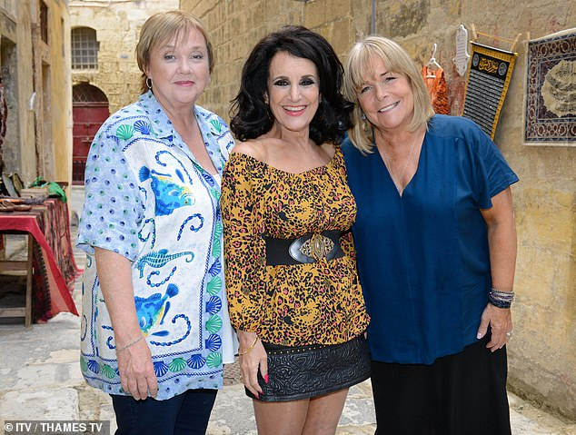 Popular comedy Birds Of A Feather has been axed by ITV after Pauline Quirke (pictured with Lesley Joseph and Linda Robson) ruled out appearing in future episodes