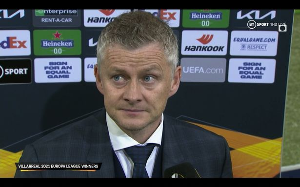 Ole Gunnar Solskjaer explained after the Europa League final defeat that his side need two or three players in order to compete