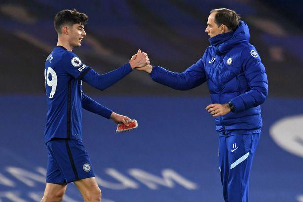 Havertz has begun to impress under Chelsea boss Thomas Tuchel