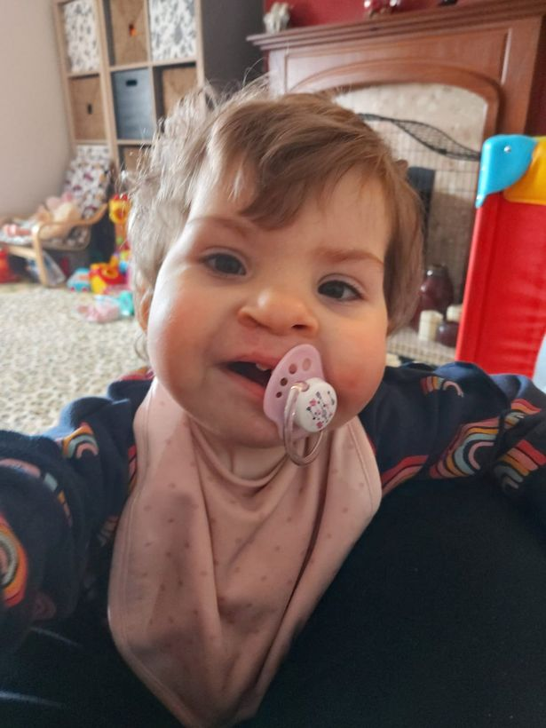 Two-year-old Olivia has touched Katie Price's heart