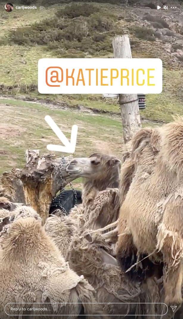 Carl Woods Katie Price