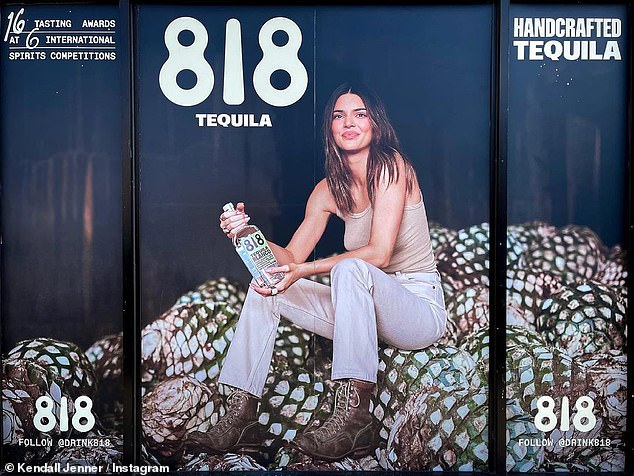 Coming soon!Kendall Jenner has been busy touting her soon-to-be released tequila line 818, which she announced on Instagram back in February