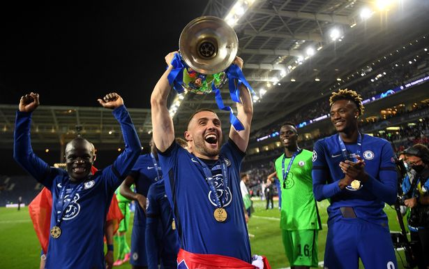 Kovacic came on as a substitute for Chelsea in the Champions League final