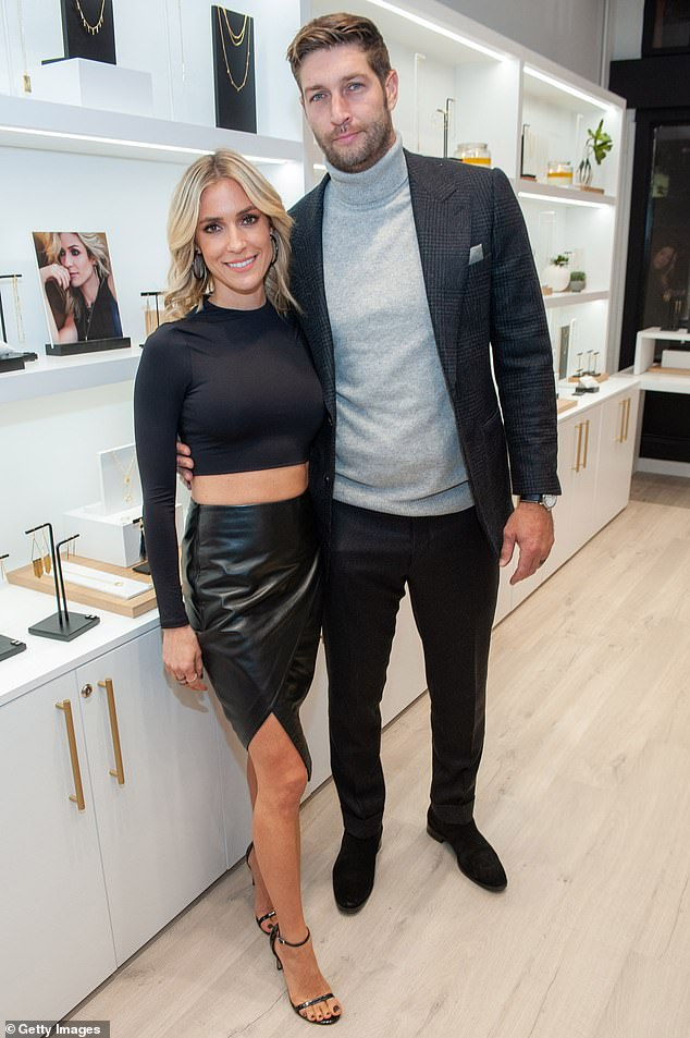Kristin Cavallari's divorce to Jay Cutler is stalled in courts as he reportedly petitioned for '50 percent ownership' of her company, Uncommon James; seen in 2019