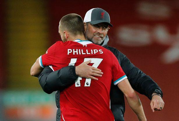 Nat Phillips enjoyed an impressive end to the season