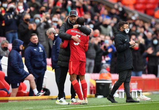Wijnaldum is leaving Liverpool this summer
