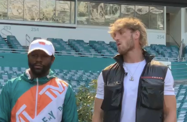 Floyd Mayweather and Logan Paul will fight next month