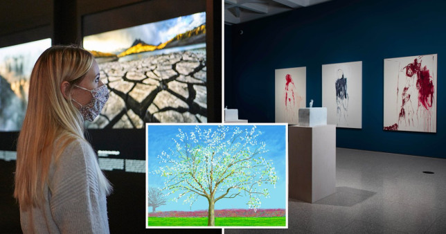 different London exhibitions