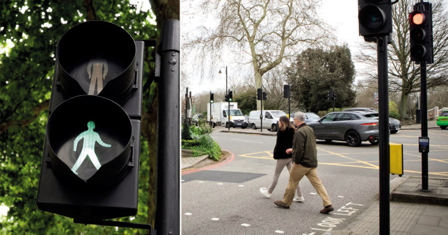 A green light for pedestrians is now the default setting at seven crossings in London as the capital pivots away from giving priority to motor vehicles.