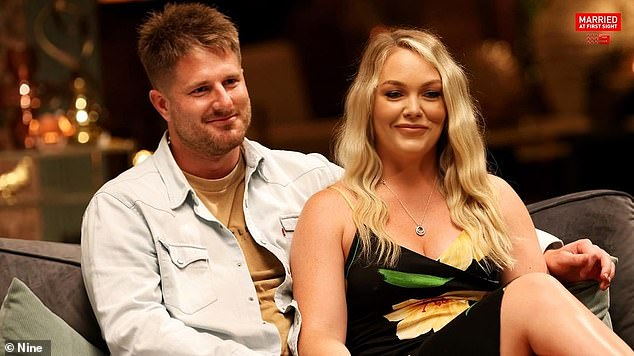'Not backing down': Married At First Sight's Bryce Ruthven (left) and Melissa Rawson (right) have revealed they are considering legal action over their 'negative portrayals' on the show