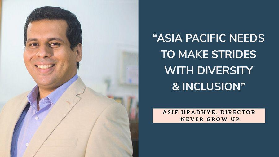 Asif Upadhye, Director Never Grow Up